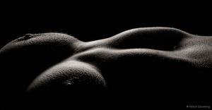 Goosebumps breast