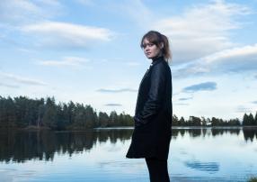 Livie black coat