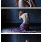 Purple skirt series - Accepted - with Ivory Flame