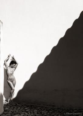Óbidos shadow - with Mischkah