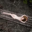 Lulu on wooden planks - with Lulu Lockhart