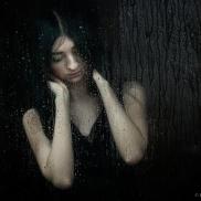 Malena rainy day - with Malena