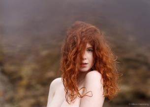 Portrait of Icelandic girl - with S. Jóhannsdóttir