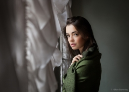 Portrait of Lidia - with Lidia