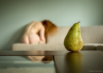 Pear - with Ivory Flame